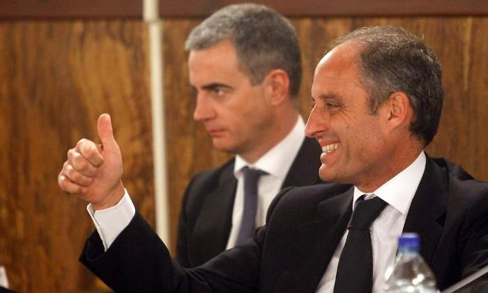 Francisco Camps y Ricardo Costa en 2012 (Fuente: Reuters)