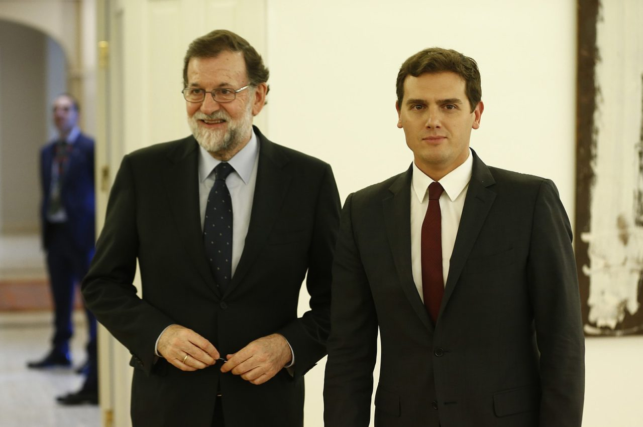 Mariano Rajoy y Albert Rivera (Fuente: Wikimedia Commons)