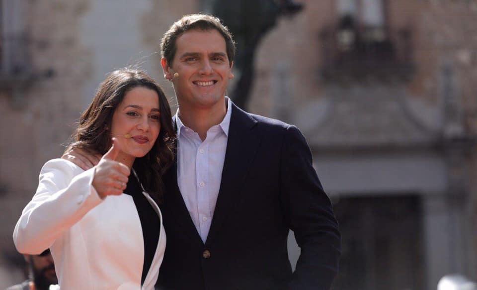 Albert Rivera e Inés Arrimadas (Fuente: Facebook Albert Rivera)
