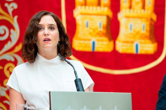 Isabel Díaz Ayuso (Fuente: Shutterstock)